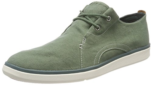 Timberland Amherst Sensorflex, Zapatos de Cordones Oxford para Hombre, Verde (Grape Leaf Duck Down A58), 43.5 EU