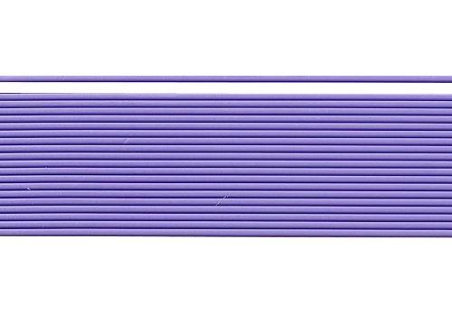 Wachsstreifen / Verzierwachs 'Lila' (20 Stück / 20 cm x 1 mm) TOP QUALITÄT