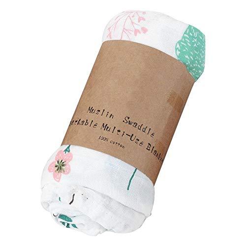 Carters Eisbär (Baby-Badetuch, Mehrzweck-Double Layer Cotton Swaddles Quilt Wrap Blanket(Eisbär))
