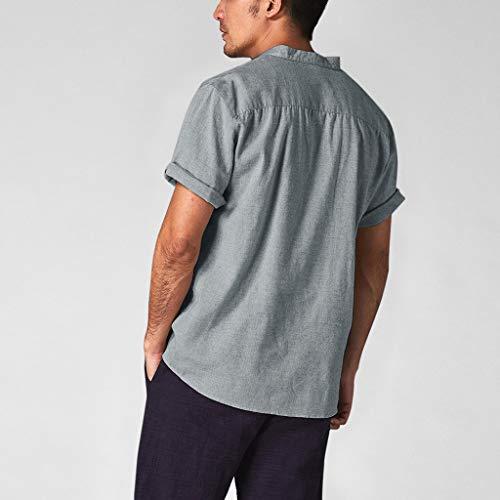 2d34c541a124fd Zoom IMG-1 camicia uomo manica corta vovotrade