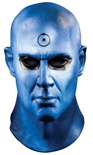 Masque Officiel Watchmen Dr Manhattan - en latex - Adulte - Taille unique