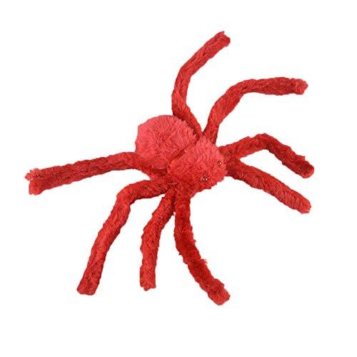 lymty Unheimlich Riesenspinne Halloween Spooky Gefälschte Spinne Plüschtier Für Halloween Party Dekoration Spukhaus Requisiten Streich Trick