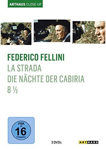 Federico Fellini - Arthaus Close-Up (La Strada - Das Lied der Strasse/Die Nächte der Cabiria/8 1/2) [3 DVDs]