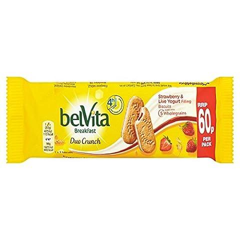 ( 18 Pack ) Belvita Breakfast Biscuits Duo Crunch Strawberry