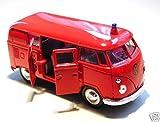 VW Bus Bulli Feuerwehr rot 1962 Modellauto 12156 [Spielzeug]