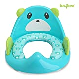 Baybee Premium Potty Training Seat for Boys and Girls | Toddler Potty Ring | Fits Round and Oval Toilets ( Blue )
