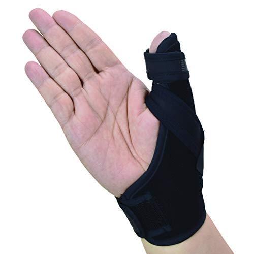 Thumb Spica Splint- Thumb Brace per artrite o lesioni ai tessuti molli, leggero e traspirante, stabilizzante e non restrittivo, approvato dalla FDA, prodotto solido statunitense (piccolo/medio)