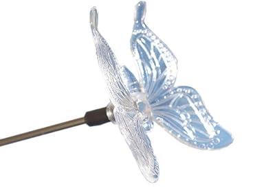 3er Set LED SOLAR Erdspieß Wegbeleuchtung Schmetterling von Nexos Trading - Lampenhans.de