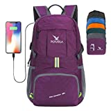 Best Durable Luggages - Pokarla 35L Foldable Durable Backpack Travel Hiking Daypack Review