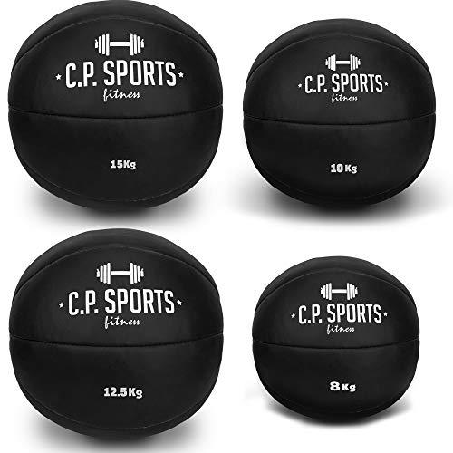 C.P. Sports - Balón medicinal de piel Negro o Marrón 88f76b0f3d5d