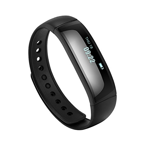 TYWZF Fitness Tracker, Smart Armband Activity Tracker Schlaf-Monitor Wasserdicht Für iPhone Samsung & Andere Android