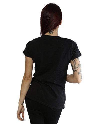 Suicide Squad Femme Harley Quinn Gang T-Shirt Noir