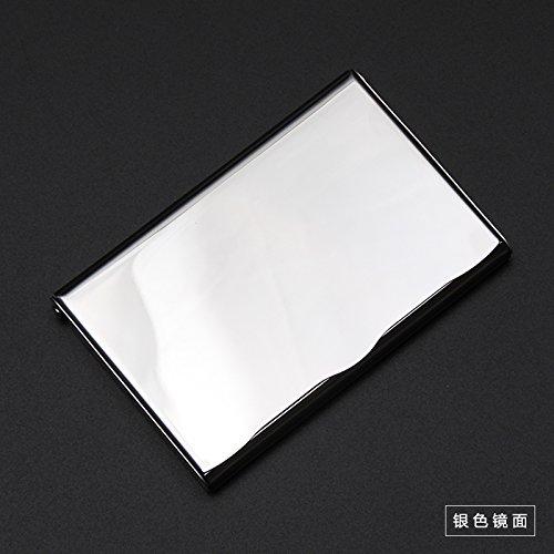 SANMULYH �Business Card Business Clip Semplice E Creativa Sottile Di Metallo Sottile Di Acciaio Inos