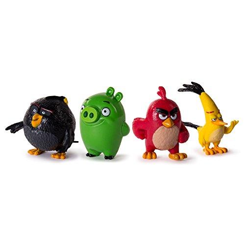 "Image of Angry Birds 6028739 ""Angry Birds"" Mini Figure (Pack of 4)"