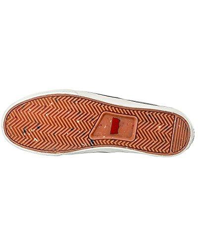 Levi's Original Red Tab Slip On, Baskets mode homme Brun foncé