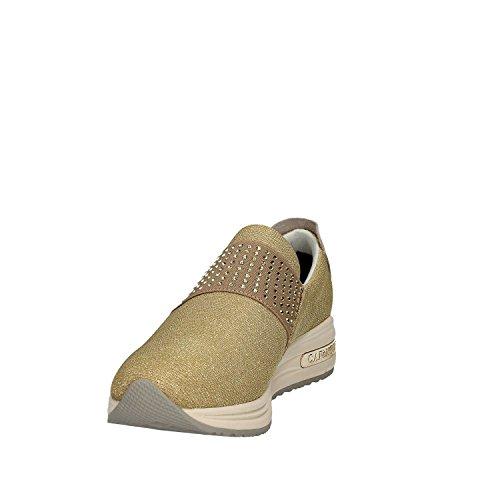 CAFeNOIR MDA945 Argento e Oro Sneakers Scarpe Donna Comode Fashiom Platino