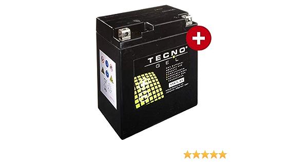 Tecno Ytx7l Bs Gel Batterie Vl 125 Lc Intruder 2000 2008 Auto