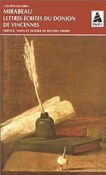 LETTRES ECRITES DU DONJON DE VINCENNES. (1777-1778)