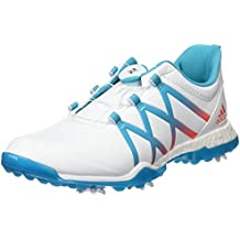 best website 7da5b 906f0 adidas W Adipower Boost Boa, Zapatos de golf para Mujer, Multicolor (blanco