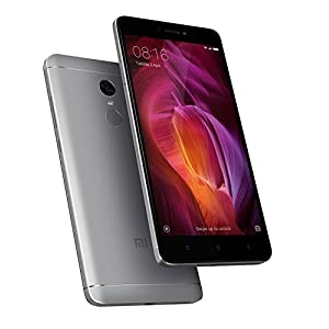 "Xiaomi Redmi Note 4 Smartphone SIM doble 4G 64GB 5.5"" 64 GB, 13 MP, Android 6.0 Marshmallow + MIUI 8.0, Grey [European version]"