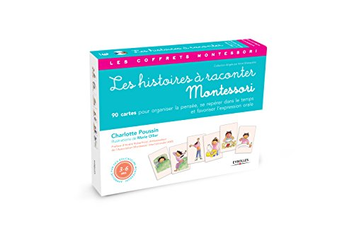 Les histoires à raconter : Avec 90 cartes et un livret - pédagogie Montessori par Marie Ollier