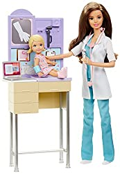 Barbie Pediatrician Doll and Playset, Multi Color