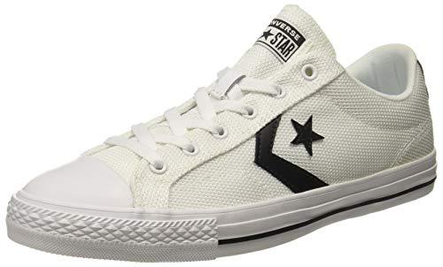 Converse Men's White/Black Sneakers - 7 UK/India (40 EU)(160580C)