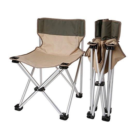 camping klappstuhl Leichte, langlebige Outdoor-Sitz - Perfekt für Camping, Festivals, Garten, Caravan Trips, Angeln, Strand, BBQs