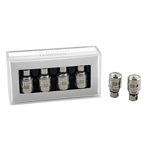 100% ORIGINAL UWELL CROWN COILS (4er PACK) - 0,5 OHM (Nikotin Low)