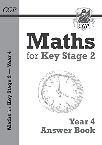 New KS2 Maths Answers for Year 4 Textbook (CGP KS2 Maths)