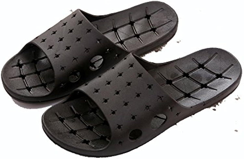 Cómodo Zapatos antideslizantes del masaje de las sandalias Hogar casero lindo con los deslizadores inferiores...