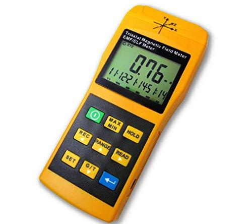 3-Achsen-Gauss-EMF-ELF-Messgerät, Strahlungsintensität Des Elektromagnetischen Feldes 20/200/2000 Mg & Ut, Frequenz 30~2000 Hz, Tragbares Handmessgerät