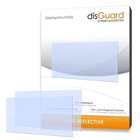 disGuard RX061137 antireflektierend und hartbeschichtet Displayschutzfolie für Falk Vision 700 (2-er Pack)