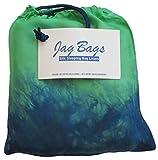 JagBag Innenschlafsack, aus reiner Seide, Standardgröße, pfau