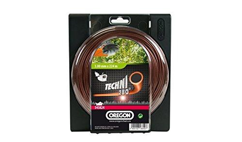 Oregon 545820 - Techni 280 de calor línea de corte resistentes a la maleza y malas hierbas