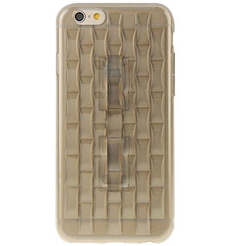 Wkae Case Cover eis - skulpturen tpu - schutzhülle mit griff für das iphone 6 plus &65 plus ( Color : Pink ) Grey
