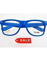 Baby Blaue Nerdbrille mit Nerd Brillenbeutel