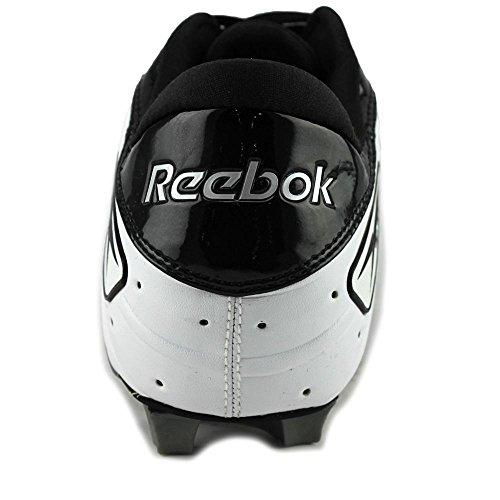Reebok NFL Outsidespeed Low M Cuir Baskets White-Black