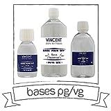 Vincent Dans Les Vapes - Base neutre - VDLV Contenance - 1 litre, Taux PG/VG - 70% PG / 30% VG sans Nicotine ni Tabac