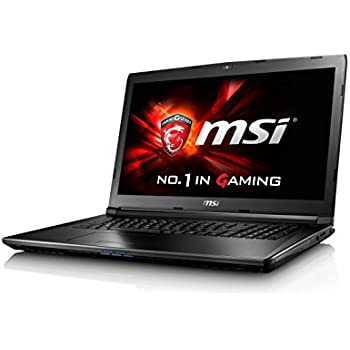 MSI GL62 7QF-1670UK 15.6 Inch Gaming Laptop (Black) - (Kabylake Core i7-7700HQ, 16GB DDR IV RAM, 128GB SSD, 1TB HDD, GTX 960M Graphics Card, Windows 10)