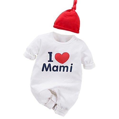Fairy Baby - Mono - para bebé niño I Love Mami 67 cm (3-6 Meses)