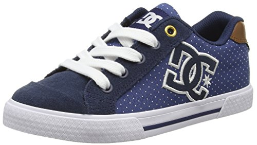 DC Shoes Chelsea SE, Sneaker donna Blu Blau (Blue/Brown/White - Xbcw) 37