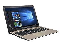 Asus X540LA-XX538T 15.6-inch Laptop (Core i3-5005U/4GB/1TB/Windows 10/Integrated Graphics), Chocolate Black