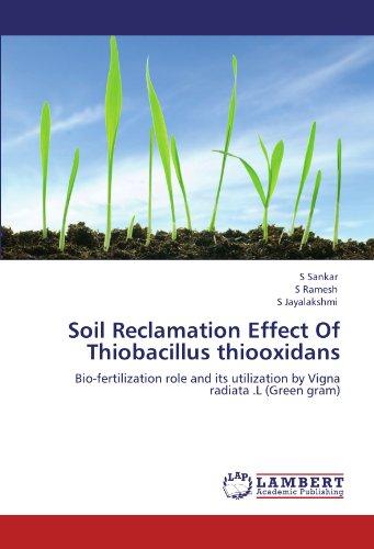 Soil Reclamation Effect Of Thiobacillus thiooxidans: Bio-fertilization role and its utilization by Vigna radiata .L (Green gram)