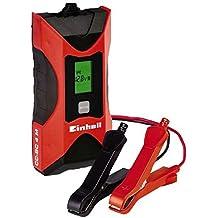 Einhell CC-BC 4 M Cargador de Batería con Control por Microprocesador, Voltaje 6 / 12 V, Corriente de Carga 0,8 A / 4 A