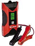 Einhell Batterie Ladegerät CC-BC 4 M (für Batterien von 3 bis 120 Ah, Ladespannung 6 V / 12 V, Winterlademodus, LCD-Batteriespannungs- und Ladeforschrittsanzeige)