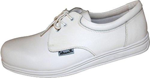 Henselite Henselite - Victory Bowls Herren Schuhe Bowling Schuhe Fußbekleidung - Weiß, 42