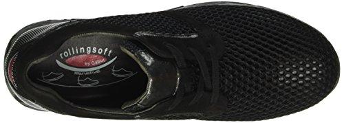 Gabor Shoes 56.995 Damen Sneakers Schwarz (Schwarz k.(S.cf) 87)