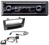Blaupunkt Brisbane 270 BT AUX MP3 SD Bluetooth USB Autoradio für Audi A4 04-08 B7 Symphony Bose Aktivsystem Most Quadlock