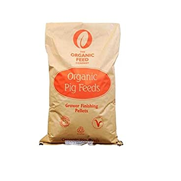 Allen & Page Organic Pig Grower/Finisher Pellets, 20 kg